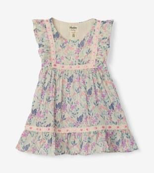 Floral Party Dress 12-18m