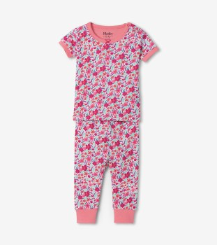 S/S PJ Set Summer Garden 9-12m