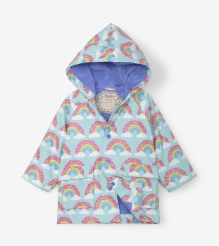 Baby Rain Coat Rainbows 12-18m