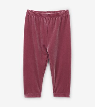 Leggings Pink Velour 18-24m