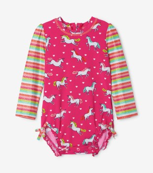 Baby Rash Guard Unicorn 3-6m