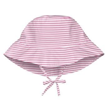 Bucket Hat Pink Stripe 9-18m