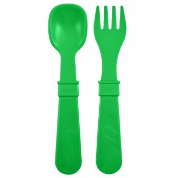 Utensil Pair Kelly Green