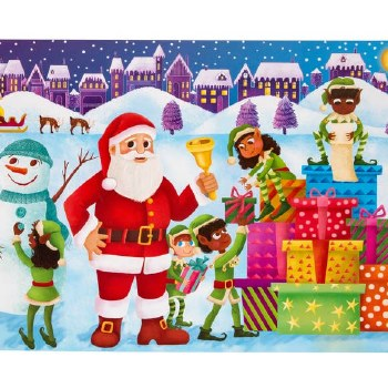 Children's Advent Sticker Calendar