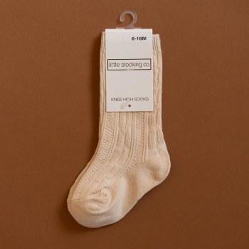 Knee High Vanilla 0-6m