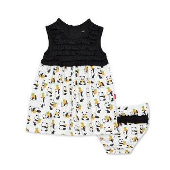 Dress Set Pudgy Pineapple 0-3m