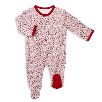 Footie Berry Holly Day 3-6m