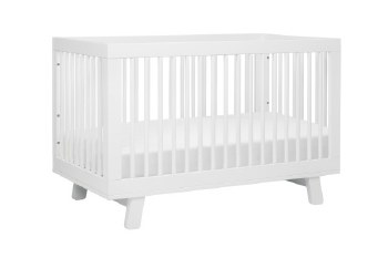 Hudson 3-in-1 Convertible Crib White