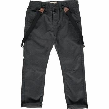 Black Suspender Pants 12