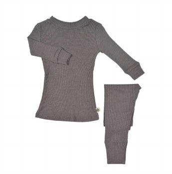 Merino Silk Set Storm Toddler 2T