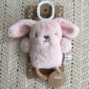 Betsy Bunny Pink Dingaring