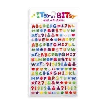 Itsy Bitsy Stickers Alphabet