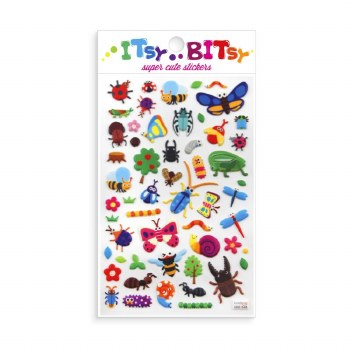 Itsy Bitsy Stickers Bug Life