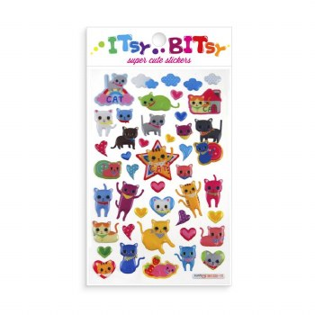 Itsy Bitsy Stickers Cat Eyes