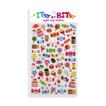 Itsy Bitsy Stickers Candy Time