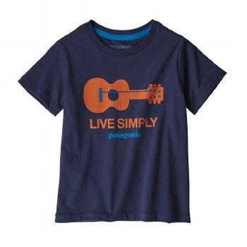 Live Simply Guitar T-Shirt 12m