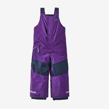 Baby Snow Pile Bibs Purple 2T