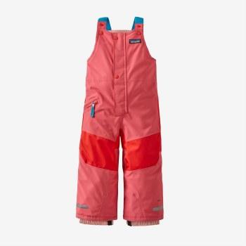 Baby Snow Pile Bibs Pink 2T