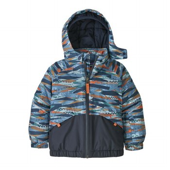 Snow Pile Jacket Wooly Blue 3T
