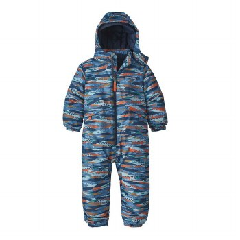 Snow Pile One-Piece Wooly 3T