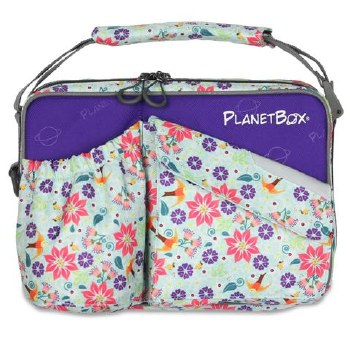 PlanetBox Carry Bag Botanical