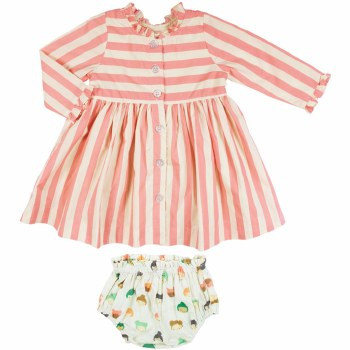 Baby Autumn Dress 3-6m
