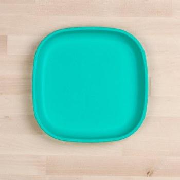 """Flat Plates 9"""" Aqua"""