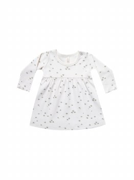 Baby Dress Ivory 2-3T