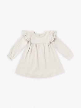 Flutter Dress Ivory 6-12m