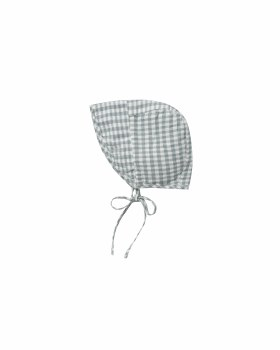 Gingham Bonnet 0-6m