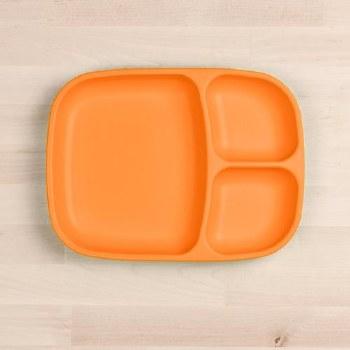 Divided Tray Orange