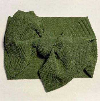 Headwrap Moss Green