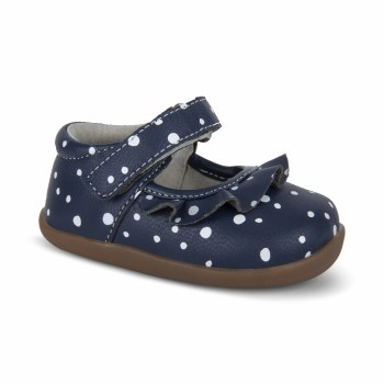 Belle Navy Snowflakes 5T