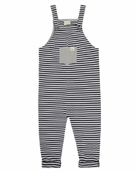 Dungarees Stripe 3-4y