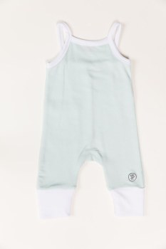 Thin Strapped Romper Sky 12-18m