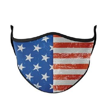 Adult Face Mask Flag