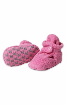 Gripper Booties Hot Pink 12m