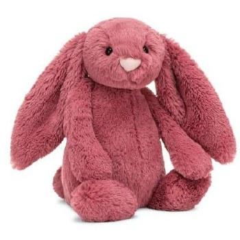 Bashful Dusty Pink Bunny Medium