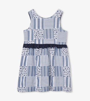 Blue Madras Dress 2T