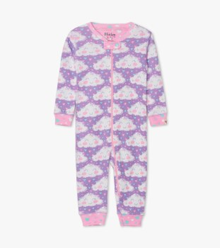 Coverall Cheerful Clouds 0-3m