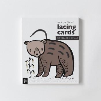 Lacing Cards Woodland Animals