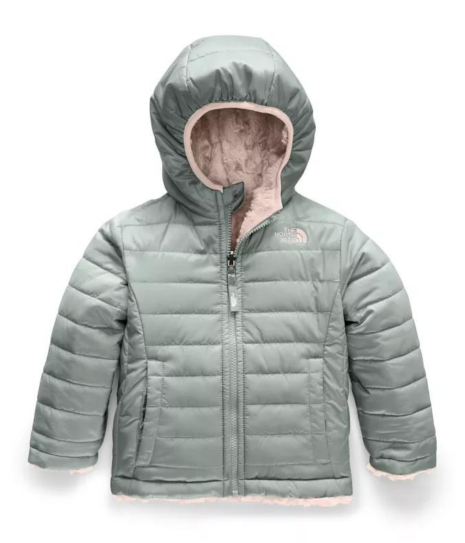 sunset pink 0 3 6 9 Little Green Radical Reversible quilted Jacket