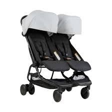 Nano Duo Stroller Silver