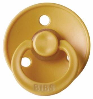 Bibs Paci Size 1 Mustard