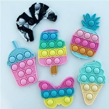 OMG Pop Fidgety Sticker Pineapple