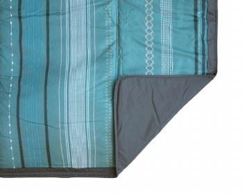 Outdoor Blanket 5x5 Shoreline Stripe