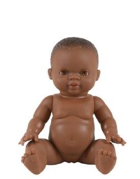 African Baby Girl Honey Eyes