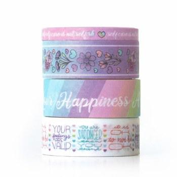 Washi Tape Set Self Care