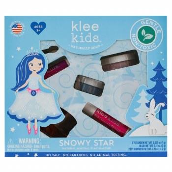 Snowy Star Natural Mineral Makup Play Kit