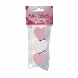 Mini Heart Bath Bombs
